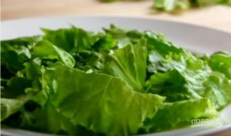 """Салат с лавашом """"Фатуш"""" - фото шаг 1"""