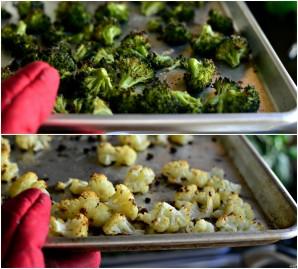 Крем-суп из брокколи и цветной капусты - фото шаг 3
