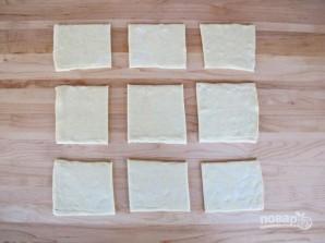 Слойки из бездрожжевого теста с сыром - фото шаг 1