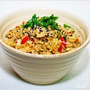 Коричневый рис в мультиварке - фото шаг 6