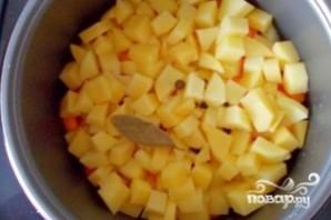 Картофель тушеный с кабачками - фото шаг 7