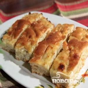 Быстрый капустный пирог - фото шаг 5