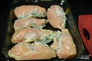 Куриное филе с начинкой - фото шаг 3