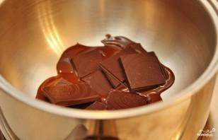 Шоколадный пирог на скорую руку - фото шаг 1