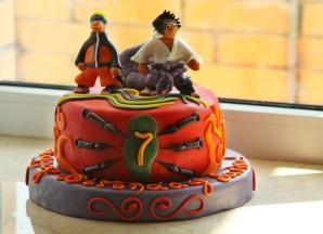 Торт Наруто - фото шаг 6
