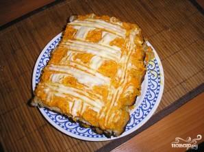 Куриный пирог с морковью - фото шаг 5