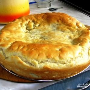 Постный пирог с капустой - фото шаг 14