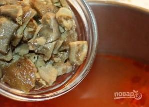 Солянка с креветками - фото шаг 15