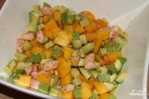 Салат из манго с креветками - фото шаг 2