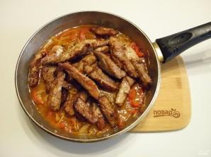 свинина в кисло сладком соусе с имбирем - фото шаг 9