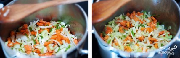 Суп из соленой трески - фото шаг 3