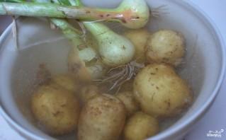 Картошка со шкварками - фото шаг 1