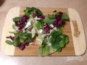 Очищающий салат - фото шаг 2
