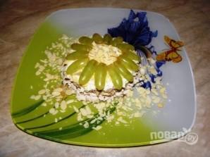 "Салат с виноградом ""Новогодний шарм"" - фото шаг 8"