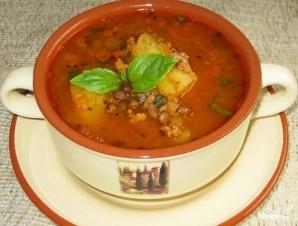 Суп из чечевицы с сельдереем - фото шаг 6