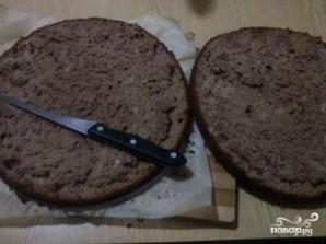 Бисквитный торт с безе - фото шаг 13