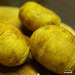 """Картофель запеченный """"Гармошка"""" - фото шаг 3"""