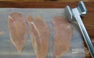 Куриное филе в белом соусе - фото шаг 1