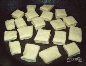 Пампушки с чесноком для борща - фото шаг 4