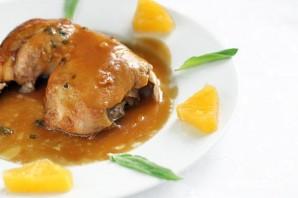 Курица с шалфеем в апельсиновом соусе - фото шаг 6