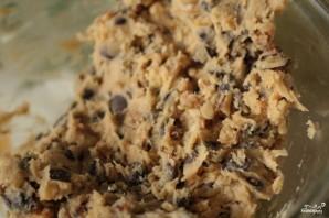 Традиционное шоколадное печенье с орехами - фото шаг 2