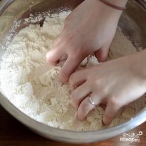Лепешки с беконом, луком и сыром - фото шаг 2