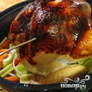 Жареная индейка с овощами - фото шаг 5