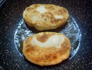Пирожки с зеленью - фото шаг 9