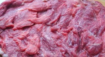 Рулет из говядины с начинкой - фото шаг 1