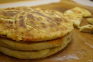 Хачапури с сулугуни на сковороде - фото шаг 10