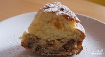 Творожный кекс с курагой - фото шаг 8