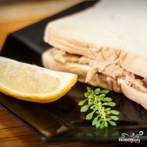Бутерброды с тунцом - фото шаг 7