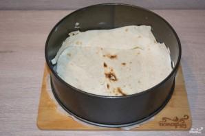 Пирог из лаваша с сыром в духовке - фото шаг 6