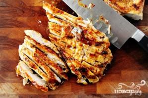 Кесадилья с курицей и ананасами - фото шаг 8