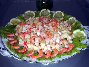 Салат креветки с ананасами - фото шаг 3
