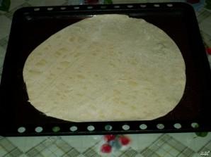 Банановый пирог из слоеного теста - фото шаг 2