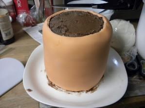 """Торт """"Цветок в горшке"""" - фото шаг 5"""