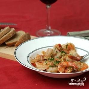 Креветки, жаренные в вине - фото шаг 3