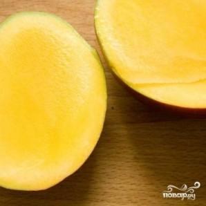 Напиток с манго и медом - фото шаг 1