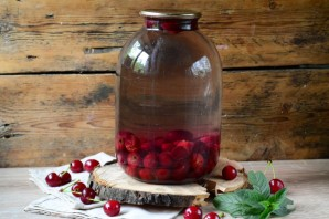 Компот из вишни на зиму (3 литра) - фото шаг 4