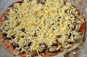 Пицца на кефире в духовке - фото шаг 10