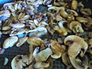 Слоеный пирог с брокколи и грибами - фото шаг 2