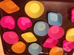 Творожные кексы в силиконовых формочках - фото шаг 6