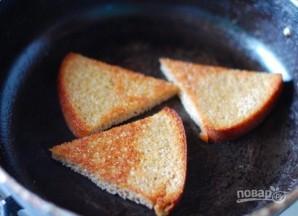 Гренки из черного хлеба с яйцом - фото шаг 1