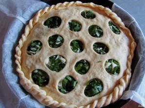 Пирог с моцареллой - фото шаг 5