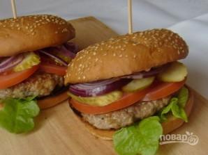 Гамбургер - фото шаг 6