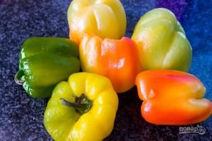Лечо из перца и помидоров - фото шаг 2