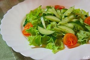 Салат пикантный с креветками - фото шаг 1