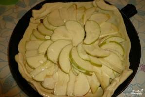 Яблочный пирог из бездрожжевого теста - фото шаг 6