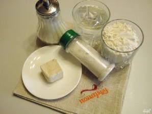 Постный хлеб в духовке - фото шаг 1